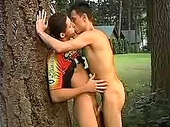Twink acquires cumflowed in the forest