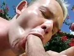 Handsome fruits in anal action