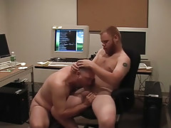 Matured gays pooch mcgee and david marx discover office place to bang in 1 episode