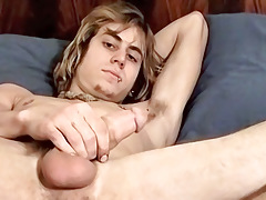 Country Dude sub Dick Masturbating - Carl Alexander