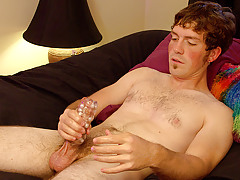 Snake Jacking off Straight Stud sub - Brady Mississippi