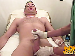 John gains his cock checked out