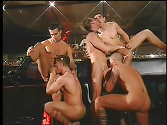 Gay club drinking all together changes direction loves big ding-dong groupie in 2 clip