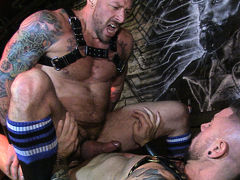 MANHOLE: Hugh Punisher & Dolf Dietrich