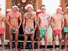 Christmas 2016 - 6-Man Orgy, Scene #01