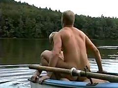Twinks fuck in the focal point of a reservoir