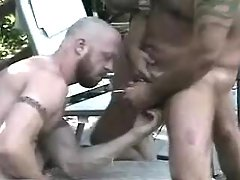 Bear grown man-lovers fuck and dick water outdoor