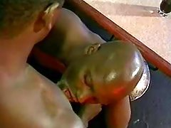 Black male getting nastily pounded