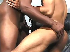 Black male getting nastily pounded