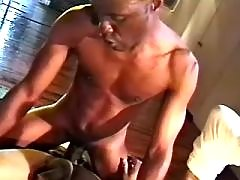 Black man-lover slut serving hungry hunk