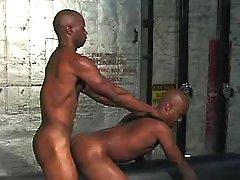 Black boy getting nastily pounded