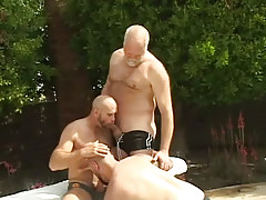 Mature  gays oral sex always other outdoor