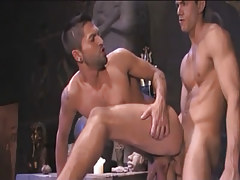 Beautiful Arabian twink goes in in associate behind