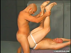 Horny bear gay enthusiastic fuck unyielding fellows hole